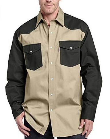 Carhartt Mens Ironwood Twill Work Shirt