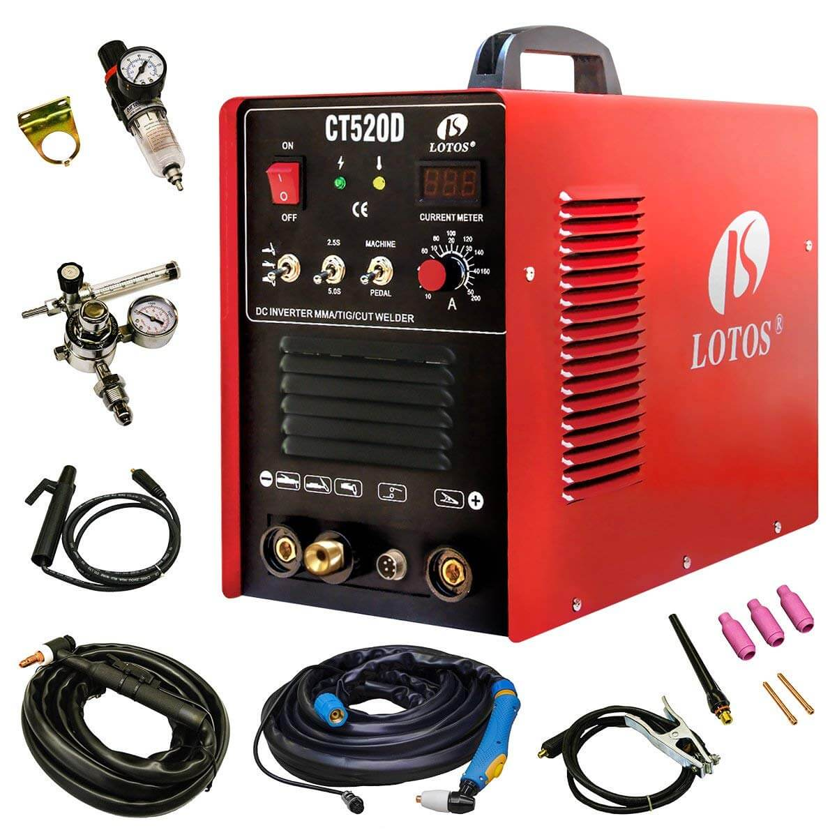 Lotos CT520D Multi-Process Welder Review