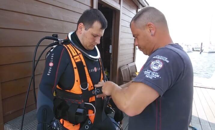 under water welding suits